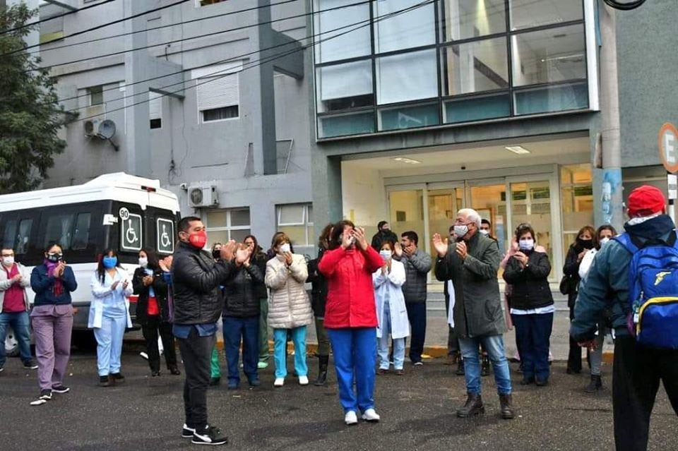 """Julio Nautschuk: """"El trabajo de todo el personal del Hospital es impecable"""""""