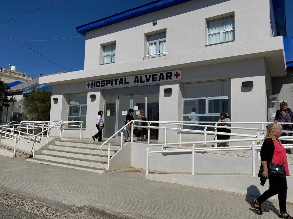Precarización en el hospital Alvear: 110 trabajadores en peligro