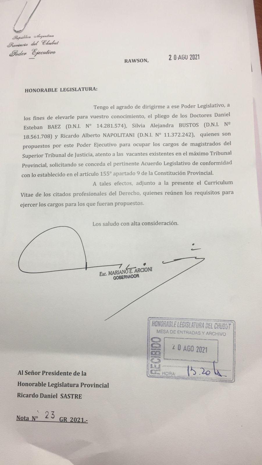 """""""EL STJ NO PUEDE SER OCUPADO POR PERSONAS QUE NO TENGAN EL AVAL ÉTICO, TÉCNICO Y POPULAR"""""""