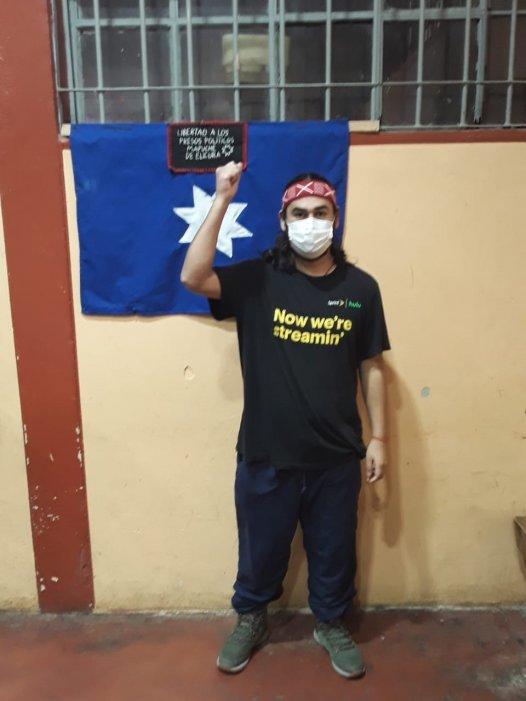 Presos políticos mapuches vuelven a la huelga seca tras ser abandonados por el estado chileno